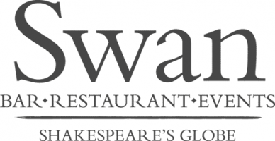 swan shakespeares globe logo